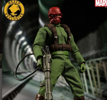 Classic Red Skull 3