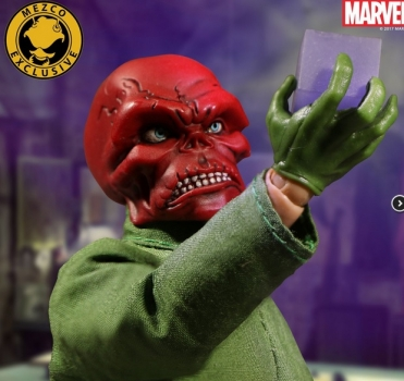 Classic Red Skull 4