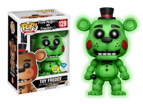 FNAF Exclusive Pop Figures 2