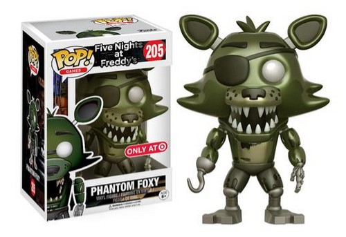 FNAF Exclusive Pop Figures 4