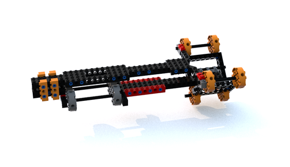 Hammerhead Corvette LEGO Ideas 3