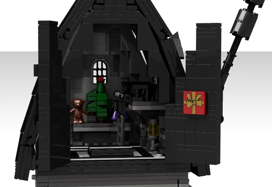 LEGO Ideas The Jack Skellington House 2