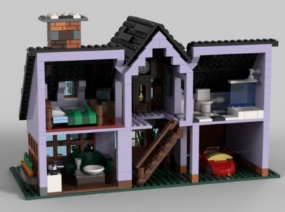 LEGO-Ideas-Bugs-Bunnys-House-3