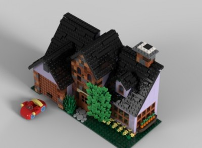 LEGO-Ideas-Bugs-Bunnys-House-8