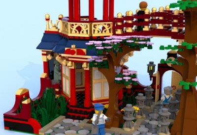 LEGO Ideas Chinese Gardens 3