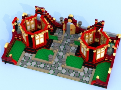 LEGO Ideas Chinese Gardens 7