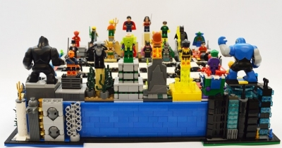 LEGO Ideas DC Heroes Villains Chess Set 2