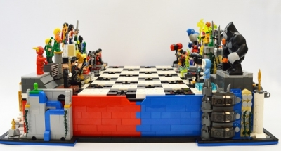 LEGO Ideas DC Heroes Villains Chess Set 3
