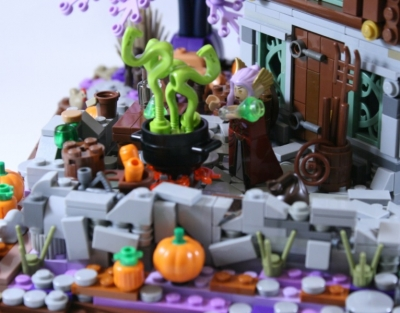 LEGO Ideas Elf Witch Cottage 4