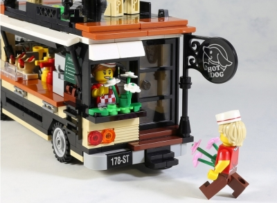 LEGO Ideas Hot Dog Truck 2