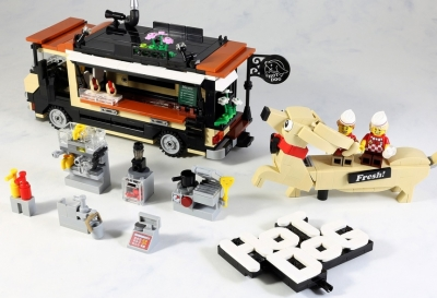 LEGO Ideas Hot Dog Truck 5
