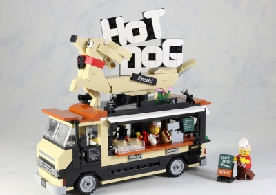 LEGO Ideas Hot Dog Truck