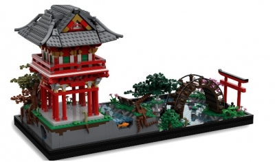 Lego Ideas Japanese Tea Garden 2