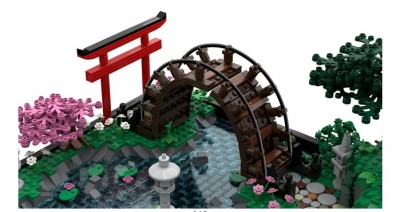 Lego Ideas Japanese Tea Garden 3