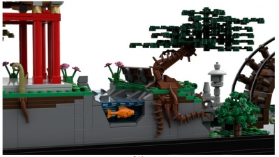 Lego Ideas Japanese Tea Garden 4