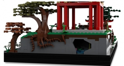 Lego Ideas Japanese Tea Garden 5