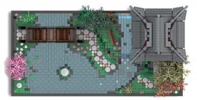Lego Ideas Japanese Tea Garden 6