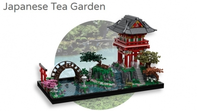 Lego Ideas Japanese Tea Garden