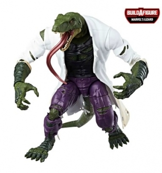 Marvel Legends Spider-Man Lizard BAF 2