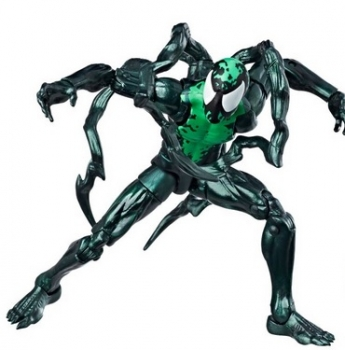 Marvel Legends Spider-Man Lizard BAF 9