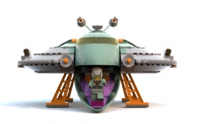 LEGO-Ideas-Retroi-Space-Heros-Spaceship-4