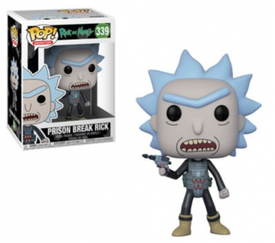 Rick and Morty Pop Figures 1