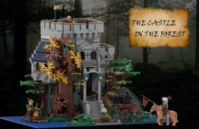 LEGO-Ideas-The-Castle-in-the-Forest-2