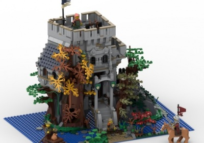 LEGO-Ideas-The-Castle-in-the-Forest-3