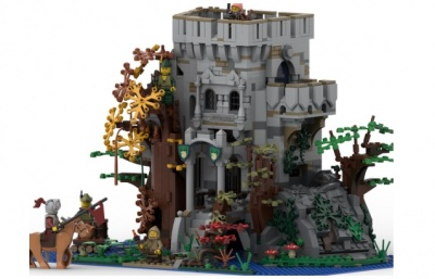 LEGO-Ideas-The-Castle-in-the-Forest-4