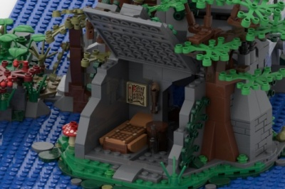 LEGO-Ideas-The-Castle-in-the-Forest-5