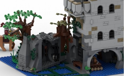 LEGO-Ideas-The-Castle-in-the-Forest-6
