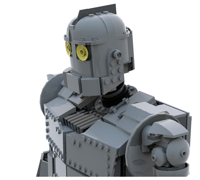 LEGO Ideas The Iron Giant 4