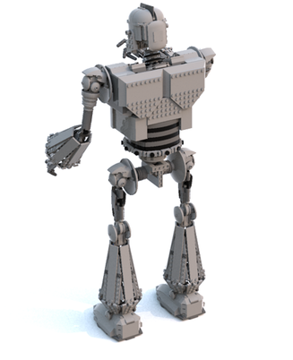 LEGO Ideas The Iron Giant 5