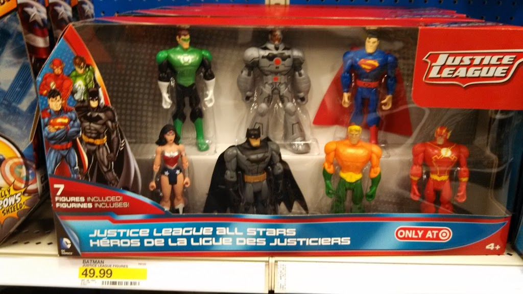 Exclusive Justice League Action Figures