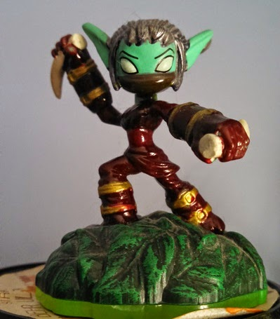 Skylander Customization: Samurai Stealth Elf