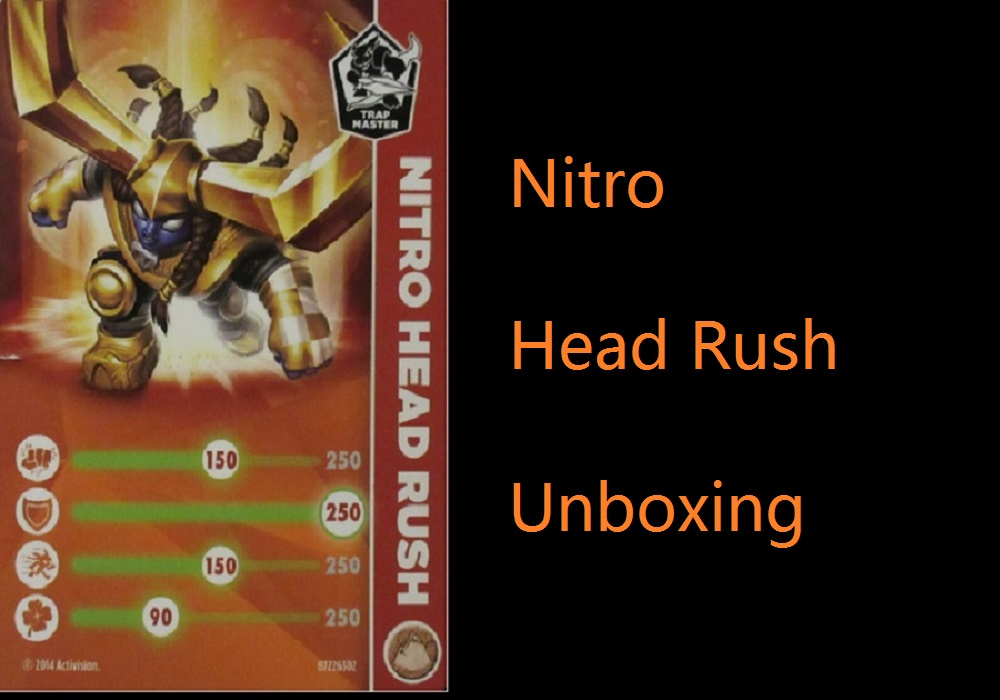 Skylanders Trap Team: Nitro Head Rush Unboxing