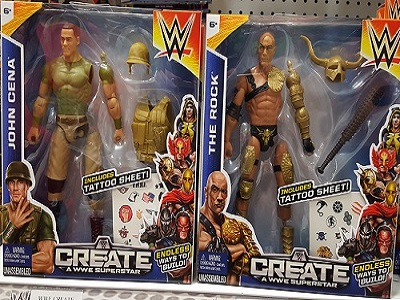OTS: WWE Create-A-Superstar Figures