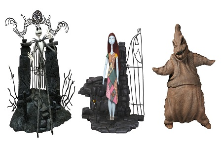 Diamond Select Releasing Nightmare Before Christmas Action Figures