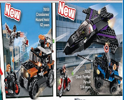 First Look Lego Captain America Civil War Sets