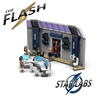 LEGO Ideas: The Flash Star Labs