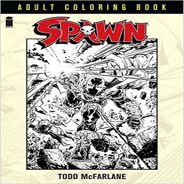 Spawn Coloring Book Coming Soon