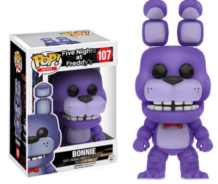 Fnaf pop figures coming this october the toy locker