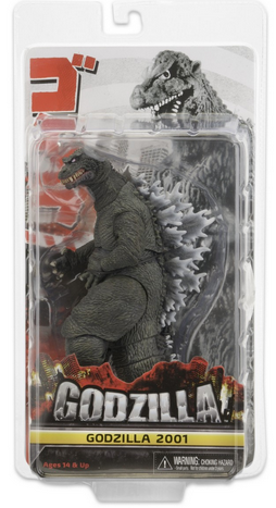 NECA Godzilla 2001 Figure Has Shipped