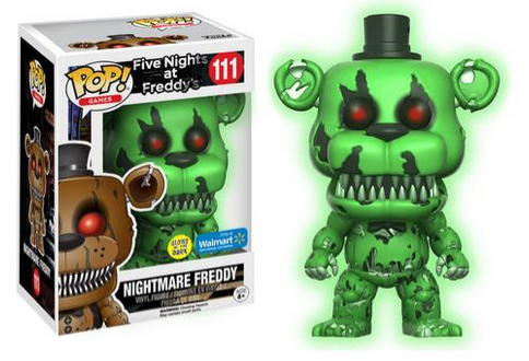 Even More FNAF Exclusive Pop Figures