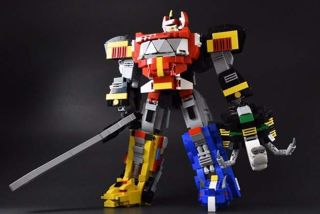 LEGO Ideas Mighty Morphin Power Rangers Megazord