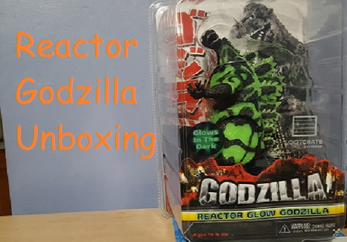 Loot Crate Exclusive Reactor Godzilla Unboxing