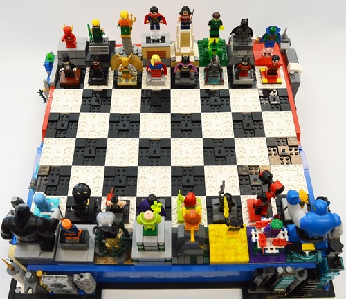 LEGO Ideas: DC Heroes / Villains Chess Set