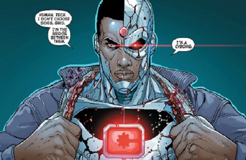Hero of the Month: Cyborg
