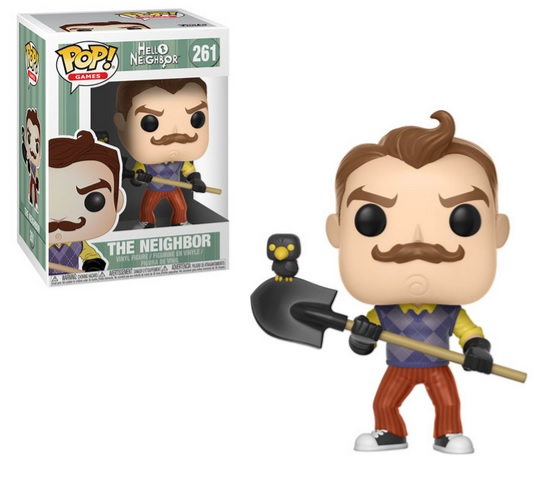 Hello Neighbor Pop Figures