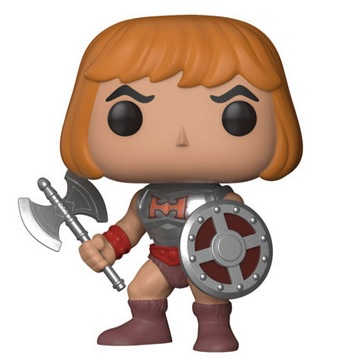 Masters of the Universe Pop Figures Coming 2018